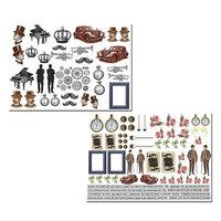 Dress My Craft - My Gentleman Collection - Motif Sheet