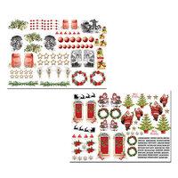 Dress My Craft - Christmas Bells Collection - Motif Sheet