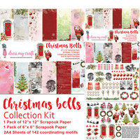 Dress My Craft - Christmas Bells Collection - 12 x 12 Collection Kit