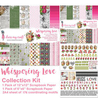 Dress My Craft - Whispering Love Collection - 12 x 12 Collection Kit