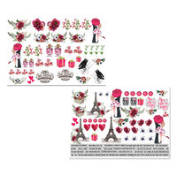 Dress My Craft - Be Mine Collection - Motif Sheet