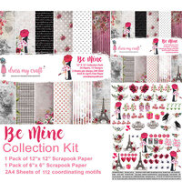 Dress My Craft - Be Mine Collection - Collection Kit