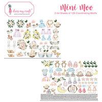 Dress My Craft - Mini Moo Collection - Motif Sheet
