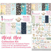 Dress My Craft - Mini Moo Collection - 12 x 12 Collection Kit