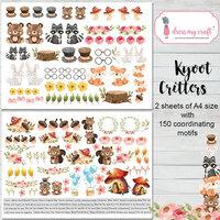 Dress My Craft - Motif Sheets - Kyoot Critters