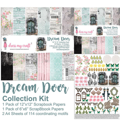 Dress My Craft - Dream Door - Collection Kit