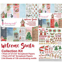 Dress My Craft - Welcome Santa Collection - 12 x 12 Collection Kit