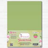 Dress My Craft - A4 - Shrink Prink - Olive Green Frosted Glass Sheets - 10 Pack