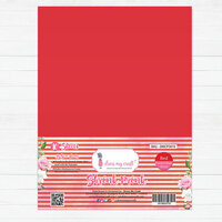 Dress My Craft - A4 - Shrink Prink - Red Frosted Glass Sheets - 10 Pack