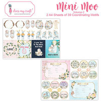 Dress My Craft - Mini Moo Motif Sheet - Volume Two