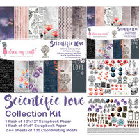 Dress My Craft - Scientific Love Collection - 12 x 12 Collection Kit