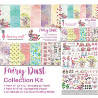 Dress My Craft - 12 x 12 Collection Kit - Fairy Dust