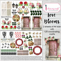 Dress My Craft - Motif Sheets - Love Blooms