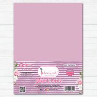 Dress My Craft - A4 - Shrink Prink - Mauve Frosted Glass Sheets - 10 Pack