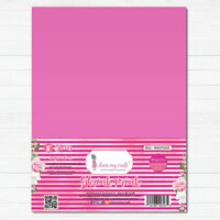 Dress My Craft - A4 - Shrink Prink - Magenta Frosted Glass Sheets - 10 Pack