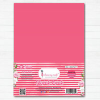 Dress My Craft - A4 - Shrink Prink - French Pink Frosted Glass Sheets - 10 Pack