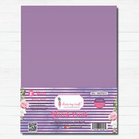 Dress My Craft - A4 - Shrink Prink - Purple Frosted Glass Sheets - 10 Pack
