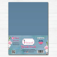Dress My Craft - A4 - Shrink Prink - Blue Beads Frosted Glass Sheets - 10 Pack