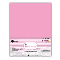 Dress My Craft - A4 Cardstock - Blush Pink - 10 Pack