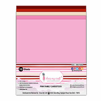 Dress My Craft - A4 Cardstock - Pink Family - 10 Pack