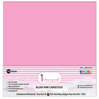 Dress My Craft - 12 x 12 Cardstock - Blush Pink - 10 Pack