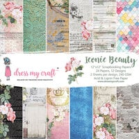 Dress My Craft - Iconic Beauty Collection - 12 x 12 Paper Pad