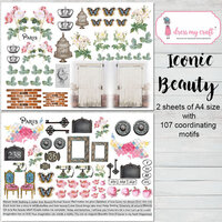 Dress My Craft - Iconic Beauty Collection - Motif Sheets