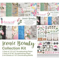 Dress My Craft - Iconic Beauty Collection - 12 x 12 Collection Kit