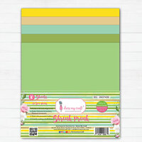 Dress My Craft - A4 - Shrink Prink - Yellow and Green Family Frosted Glass Sheets - 10 Pack