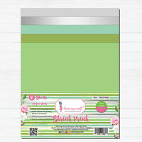 Dress My Craft - A4 - Shrink Prink - Green Family Frosted Glass Sheets - 10 Pack