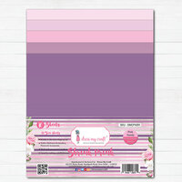 Dress My Craft - A4 - Shrink Prink - Pink Family Frosted Glass Sheets - 10 Pack