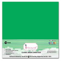 Dress My Craft - 12 x 12 Cardstock - Classic Green Cardstock - 10 Pack
