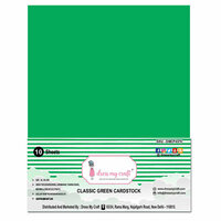 Dress My Craft - A4 Cardstock - Classic Green Cardstock - 10 Pack
