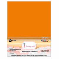 Dress My Craft - A4 Cardstock - Bright Orange Cardstock - 10 Pack
