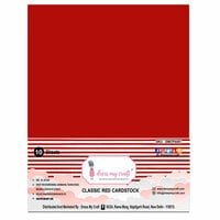 Dress My Craft - A4 Cardstock - Classic Red Cardstock - 10 Pack