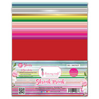 Dress My Craft - 8.5 x 11 - Shrink Prink Frosted Sheets - Value Pack - 20 Sheets