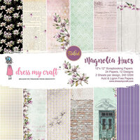 Dress My Craft - Magnolia Hues Collection - 12 x 12 Paper Pad