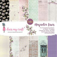 Dress My Craft - Magnolia Hues Collection - 6 x 6 Paper Pad