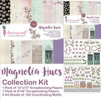 Dress My Craft - Magnolia Hues Collection - 12 x 12 Collection Kit