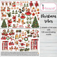 Dress My Craft - Christmas Vibes Collection - Motif Sheets