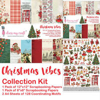 Dress My Craft - Christmas Vibes Collection - 12 x 12 Collection Kit