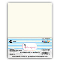 Dress My Craft - A4 Cardstock - Ivory - 10 Pack
