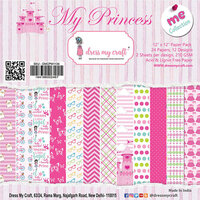 Dress My Craft - My Princess Collection - 12 x 12 Paper Pad