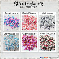 Dress My Craft - Shaker Elements - Combo Slices