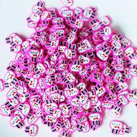 Dress My Craft - Shaker Elements - Pink Bunny