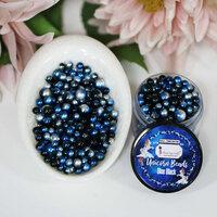 Dress My Craft - Sequins - Unicorn Beads - Blue Black
