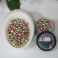 Dress My Craft - Sequins - Unicorn Beads - Pink & Green
