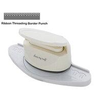 Dress My Craft - Border Punch - Ribbon Threading