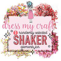 Dress My Craft - Shaker Elements - (1) Random Selection