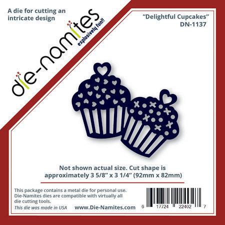 Die-Namites - Die - Delightful Cupcakes